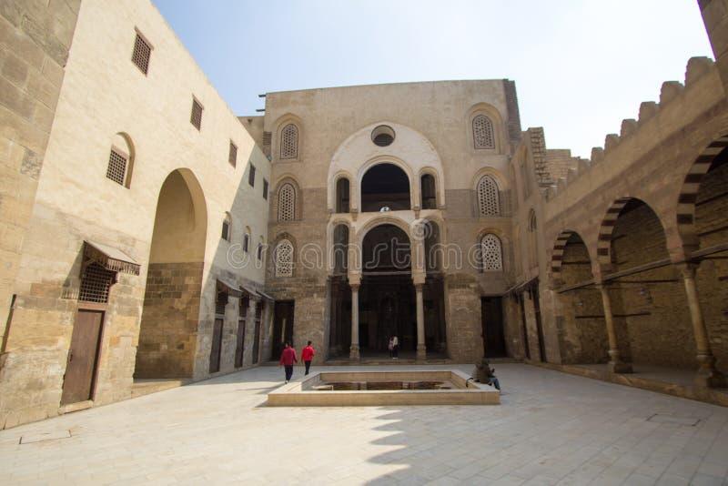 Rue de Moez de mosquées photos stock