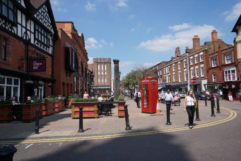Rue de Northgate, Chester photographie stock libre de droits