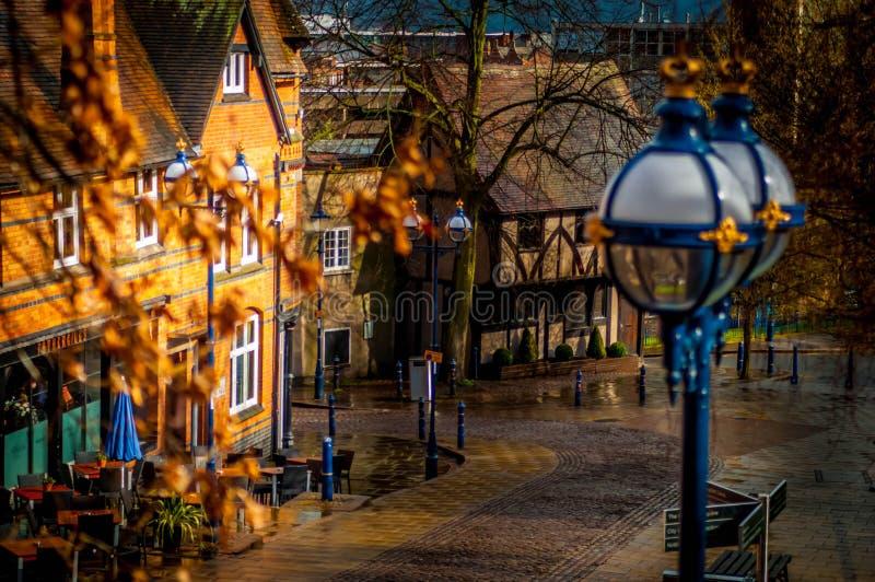 Rue de Nottingham images stock