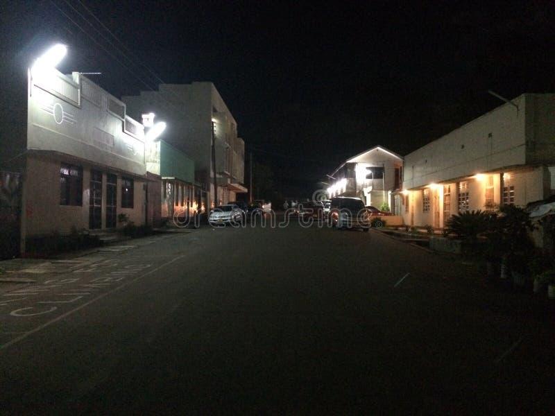 Rue de nuit photos stock