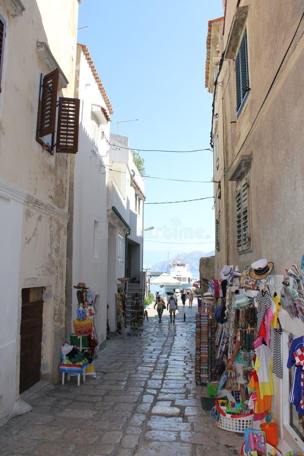 Rue de petite ville image libre de droits