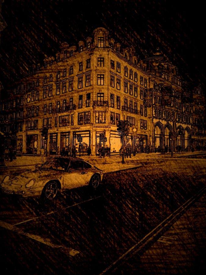 Download Rue de régents de Londres photo stock. Image du routes - 45356664