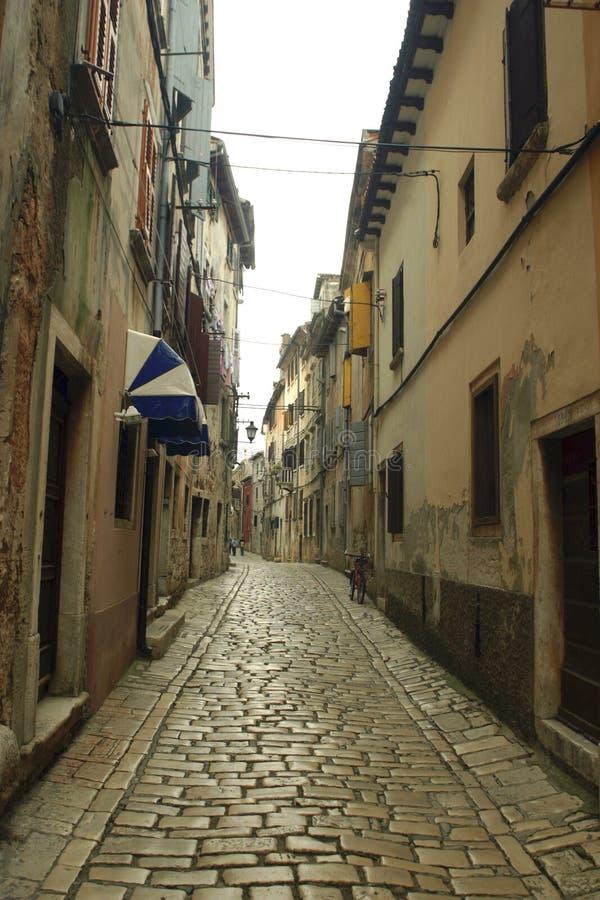 Rue de Rovinj images libres de droits