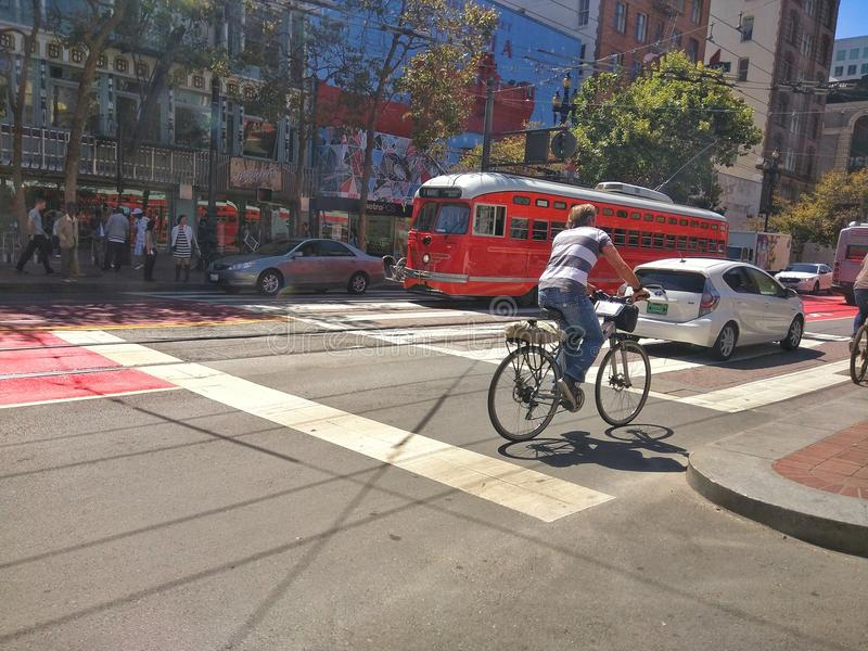 Rue de San Francisco photos libres de droits