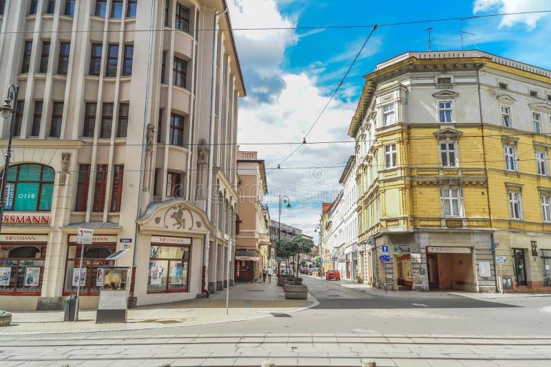 """Rue de ska de """"de Bydgoszcz GdaÅ photographie stock libre de droits"""