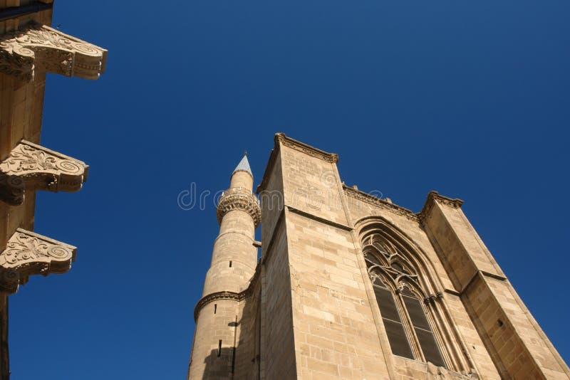 rue de sophie de nicosia de cathédrale photos stock