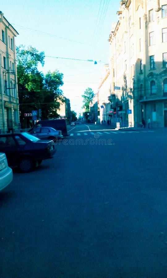Rue de St Petersbourg photographie stock