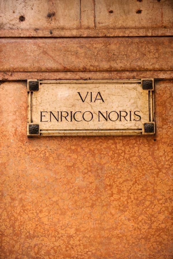 Rue de Vérone photographie stock