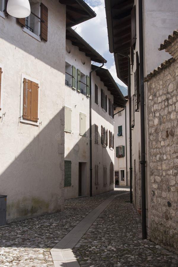 Rue de Venzone photos libres de droits
