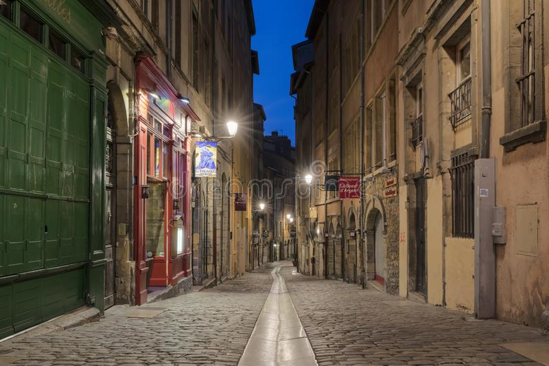 Rue du Boeuf arkivfoto
