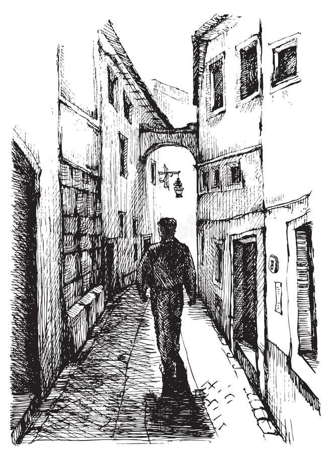 Rue du Portugal image stock