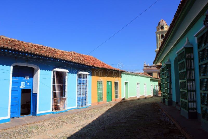Rue du Trinidad, Cuba photo libre de droits