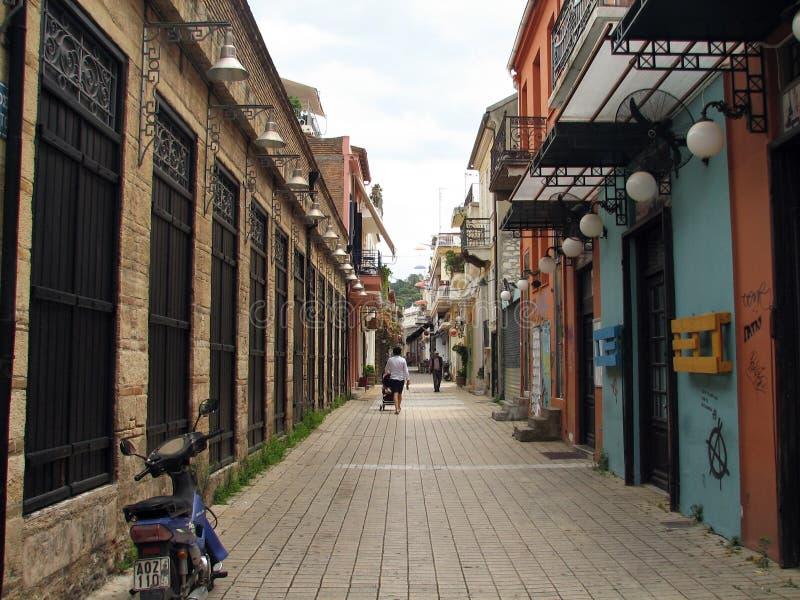 Rue en Grèce photos libres de droits