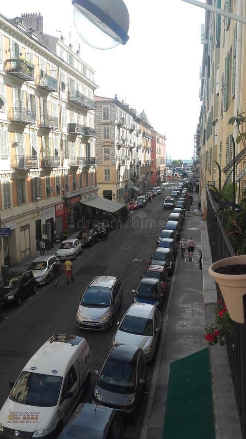 Rue François arkivbild