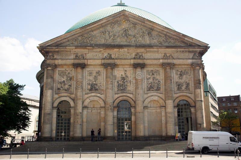 Rue-Hedwigs-Cathédrale photos stock