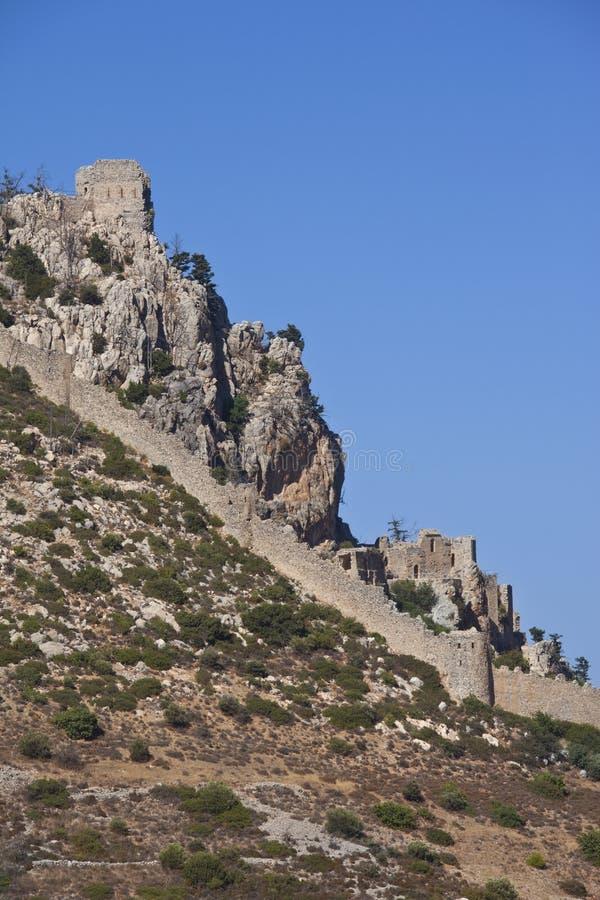 Rue Hilarion - République turque de la Chypre nordique photos stock