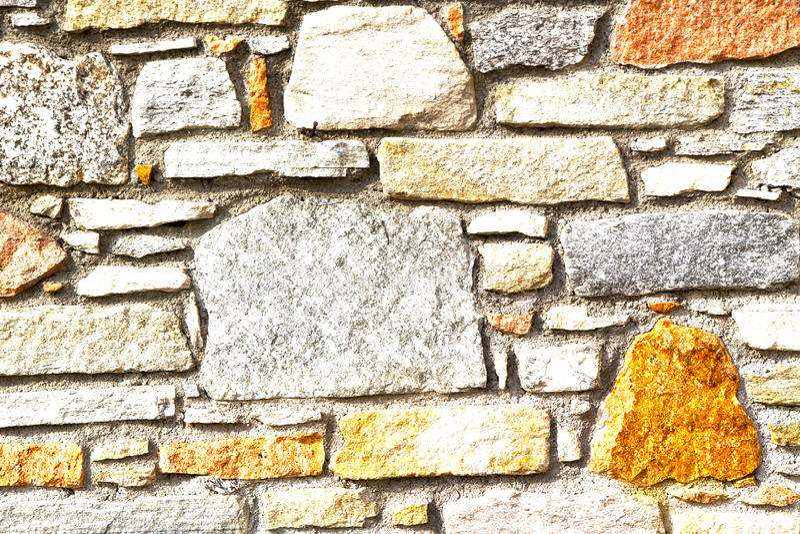 Rue Lombardie Italie de sempione de casorate de brique photos stock