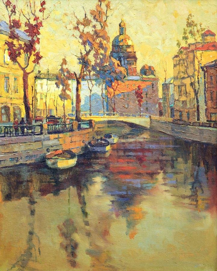 Rue - Pétersbourg illustration libre de droits