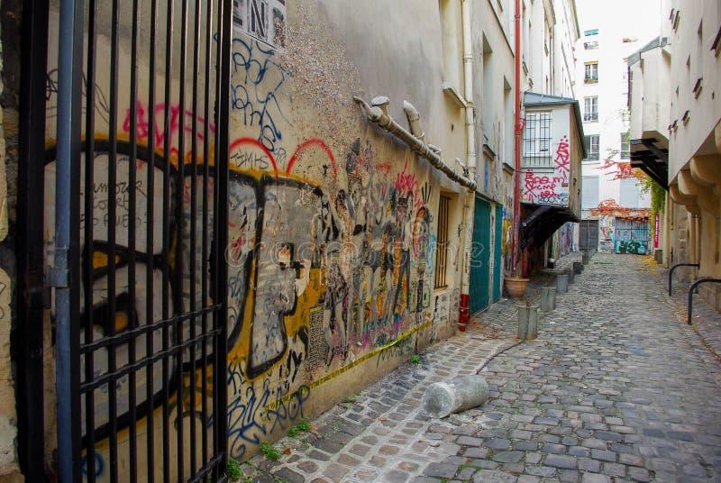 Rue parisienne photos libres de droits