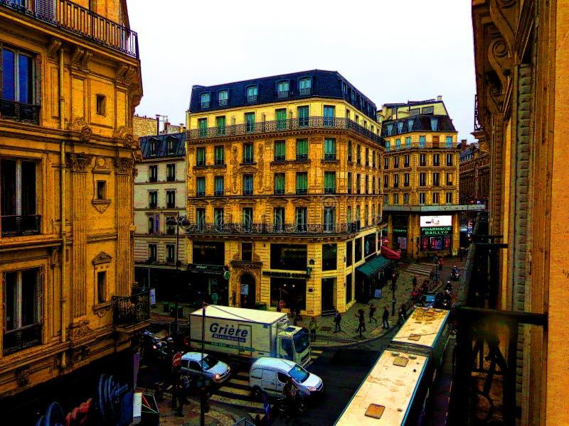 Rue Pasquier, Paris photo stock