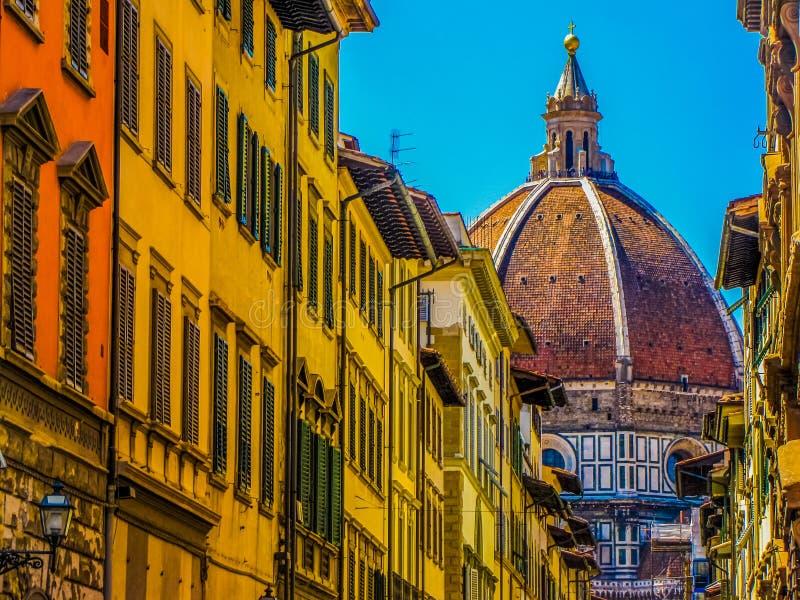 Rue pittoresque ? Florence, Italie images libres de droits