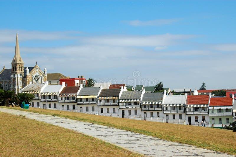 Rue Port Elizabeth Afrique du Sud de Donkin photos stock