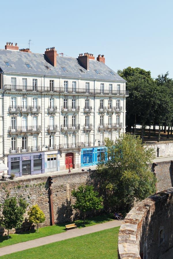 Rue rue premion nantes france image ditorial image for 11 rue de la maison blanche nantes