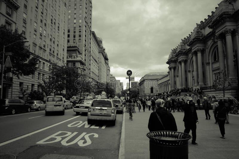 Rue Scape de New York City photos stock