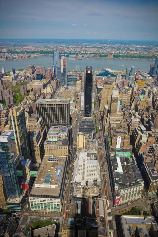 Rue Scape de New York City image stock