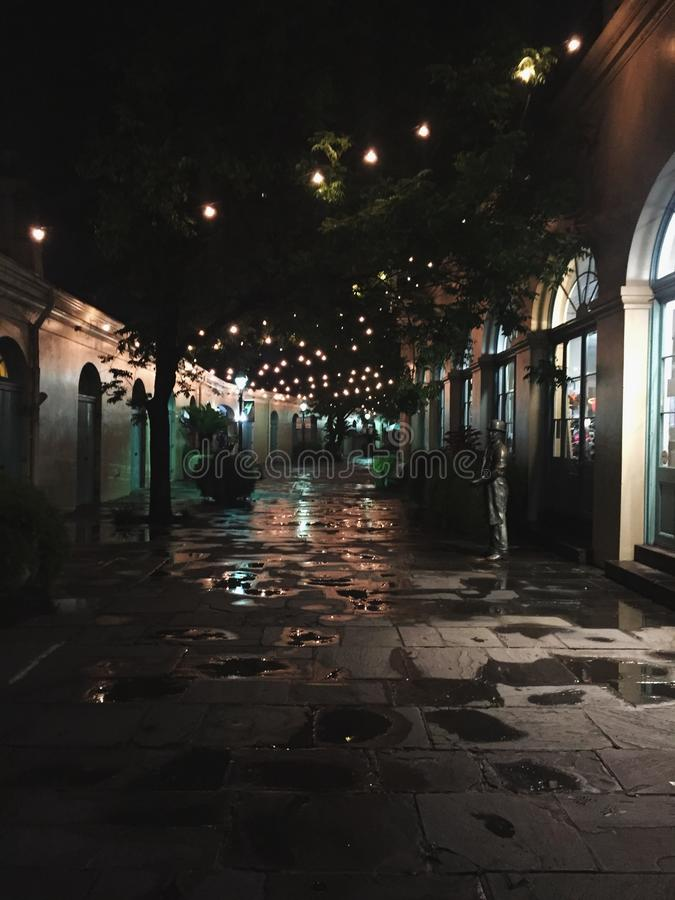 Rue tranquille photo libre de droits