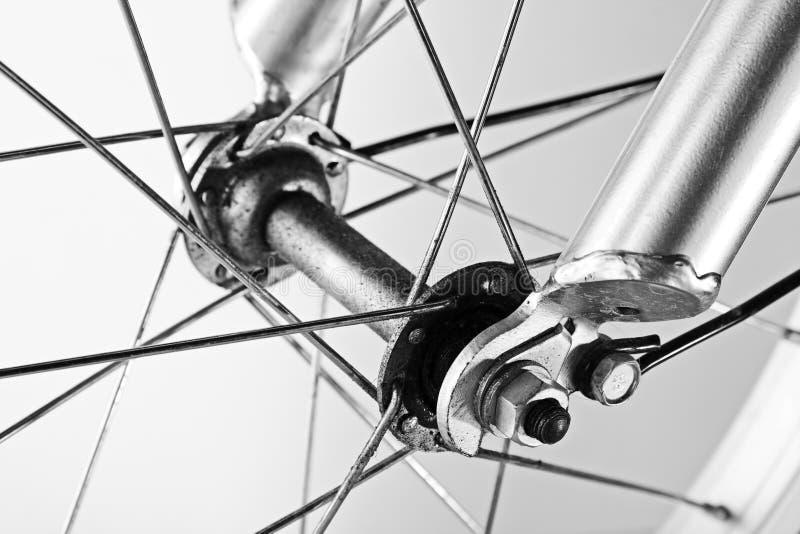 Rueda de bicicleta foto de archivo libre de regalías