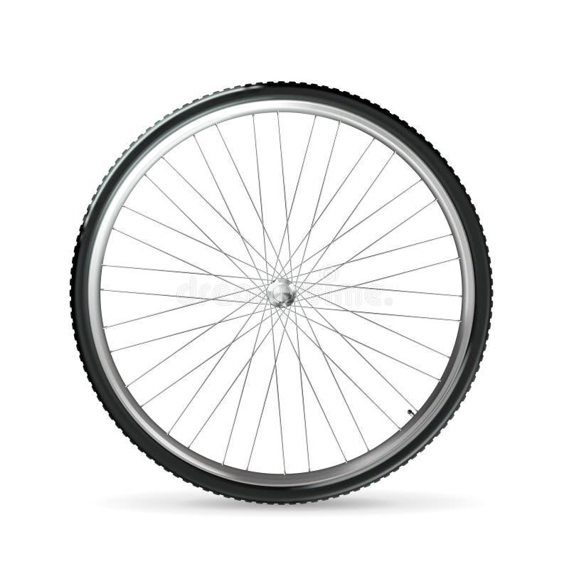 Rueda de bicicleta ilustración del vector
