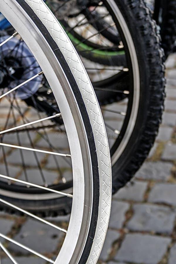 Rueda De Bicicleta. Detalle 22 Imagen de archivo