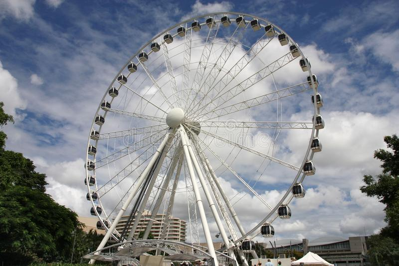 Rueda de Brisbane Ferris fotos de archivo