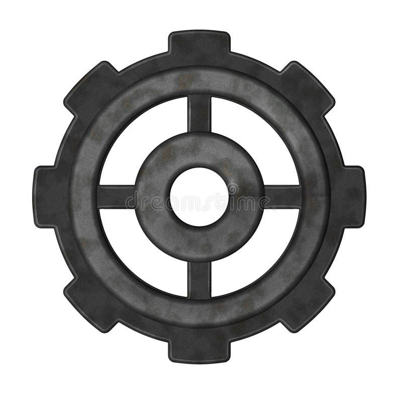 Rueda de engranaje ilustración del vector