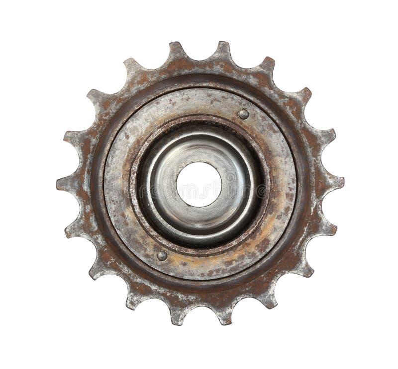 Rueda de engranaje de la bicicleta fotografía de archivo libre de regalías