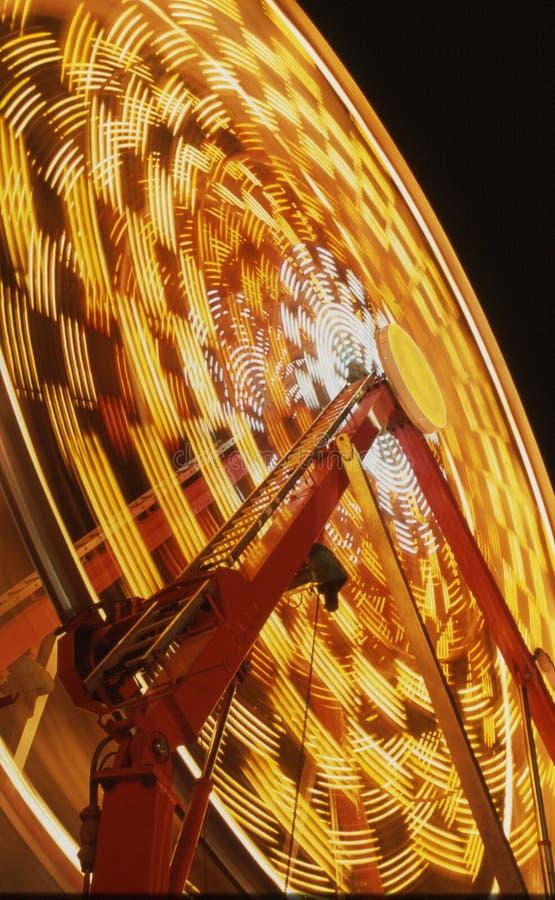 Rueda de Ferris de la noche fotos de archivo libres de regalías