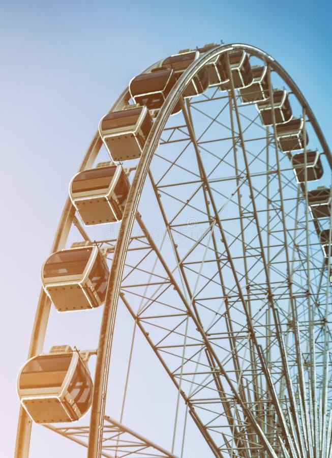 Rueda de Ferris grande fotos de archivo