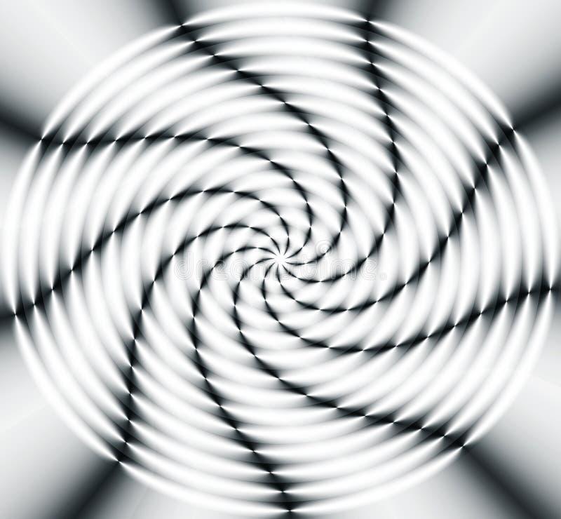 Rueda de giro ilustración del vector
