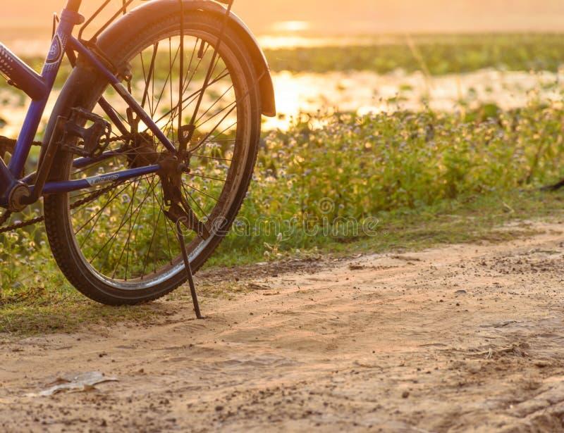 Rueda de la bicicleta imagen de archivo