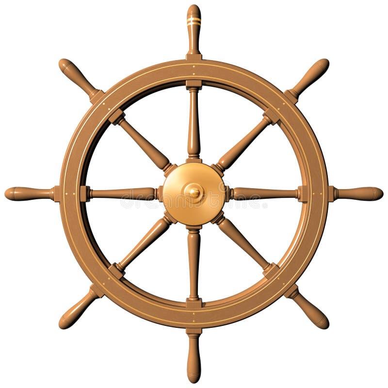Rueda de la nave libre illustration