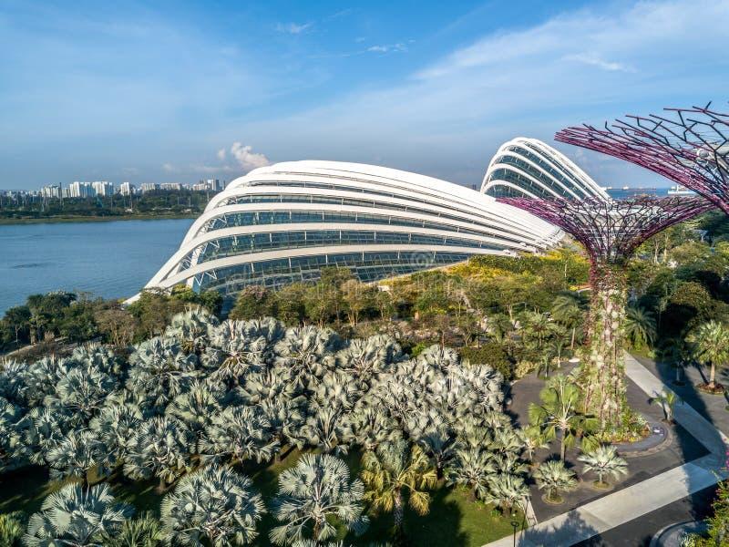 Rueda de Singapur fotografía de archivo libre de regalías