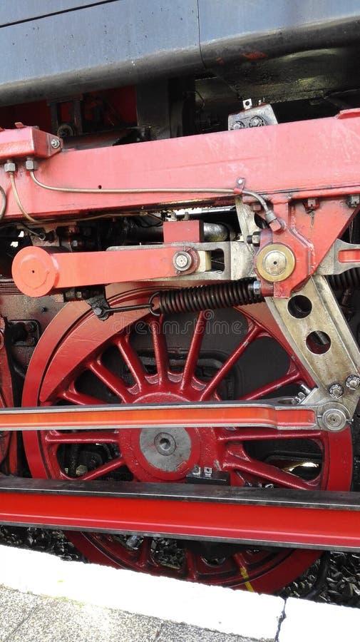 Rueda de Steamtrain imagen de archivo