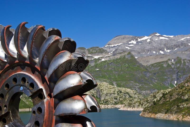 Rueda de turbina imagenes de archivo