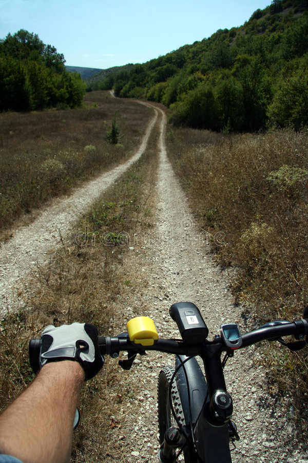 Rueda de una bicicleta imagenes de archivo