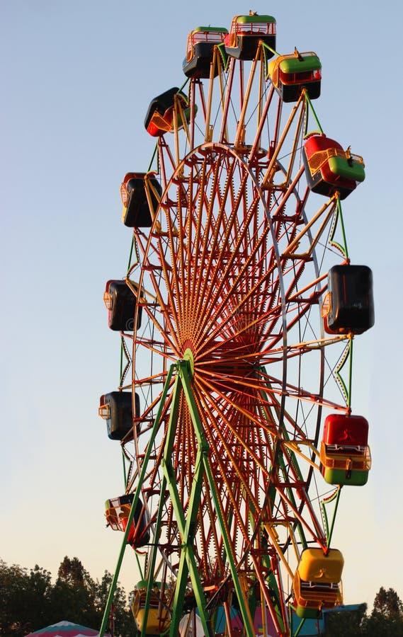 Rueda del carnaval imágenes de archivo libres de regalías