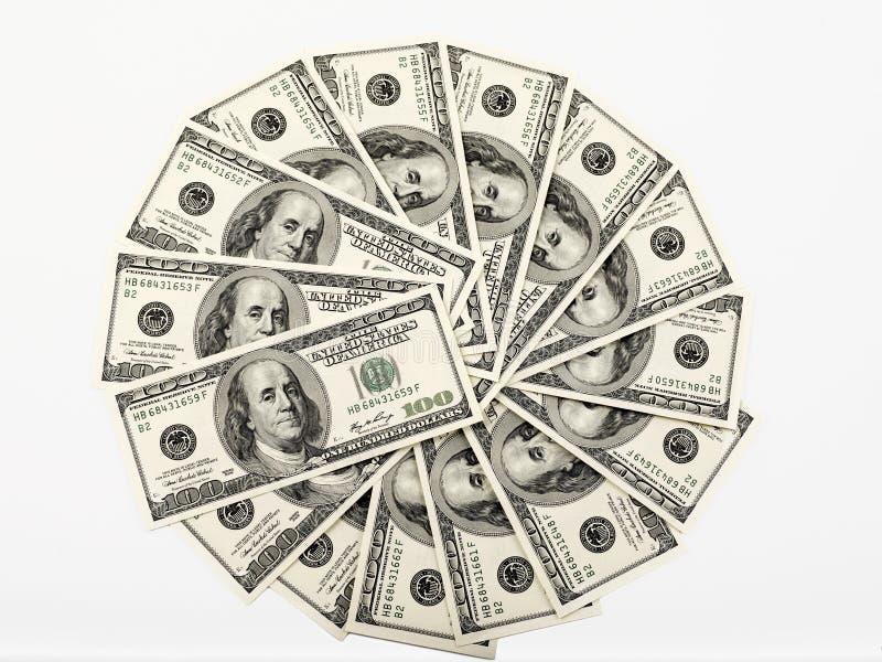 Rueda del dinero fotografía de archivo