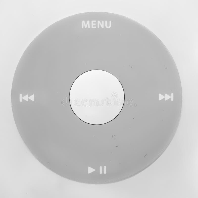 Rueda del jugador MP3 imagenes de archivo