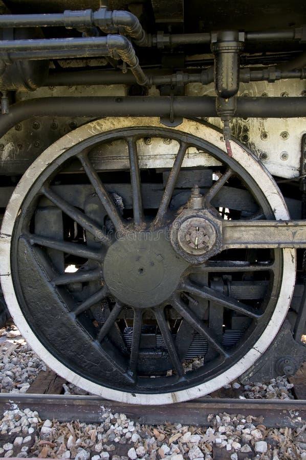 Rueda del tren imagenes de archivo