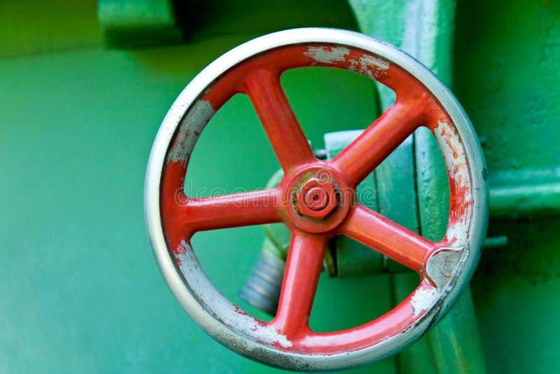 Rueda roja imagen de archivo libre de regalías